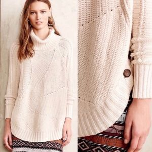Anthro Angel of the North Harvest Moon Sweater M